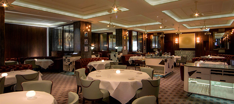 Marcus Wareing at the Berkeley, Knightsbridge